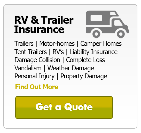 Instant Insurance Quote: RV Insurance
